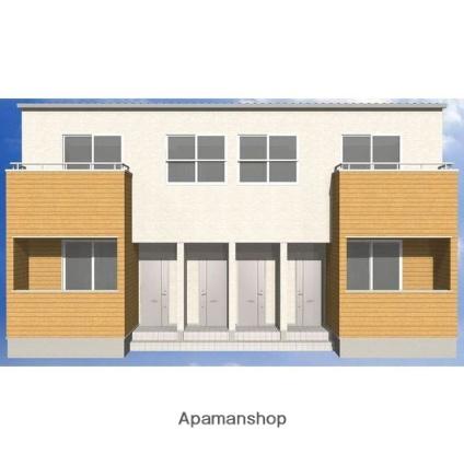 福岡県久留米市、善導寺駅徒歩6分の新築 2階建の賃貸アパート