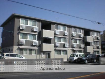 佐賀県三養基郡上峰町、吉野ケ里公園駅徒歩25分の築6年 3階建の賃貸アパート
