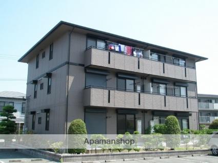 福岡県久留米市、久留米高校前駅徒歩18分の築20年 3階建の賃貸アパート