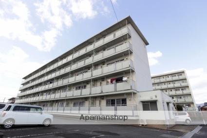福岡県朝倉市、甘木駅徒歩20分の築41年 5階建の賃貸マンション