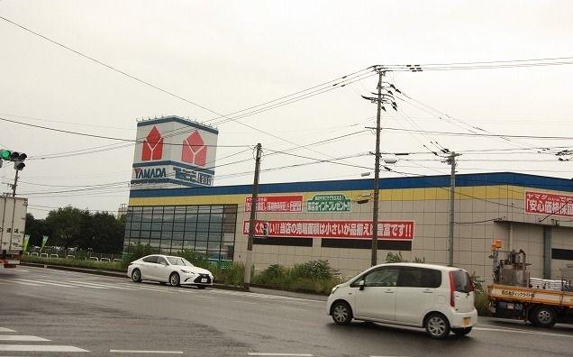 ヤマダ電機甘木店 1300m