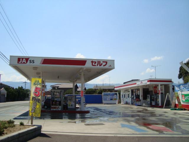 ガソリンスタンド 200m