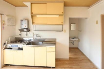 ビレッジハウス栗面2号棟[2DK/38.46m2]のキッチン
