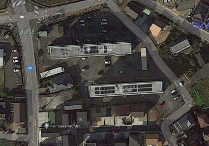 ビレッジハウス清末1号棟[3DK/51.77m2]の配置図