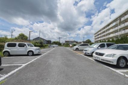 ビレッジハウス津水1号棟[3DK/53.08m2]の駐車場