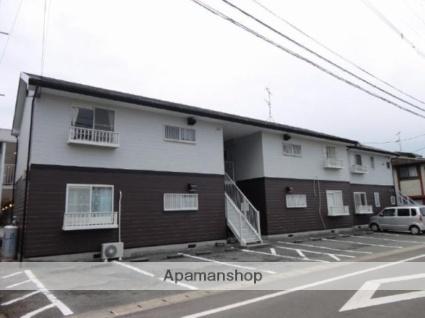 佐賀県小城市、小城駅徒歩16分の築22年 2階建の賃貸アパート