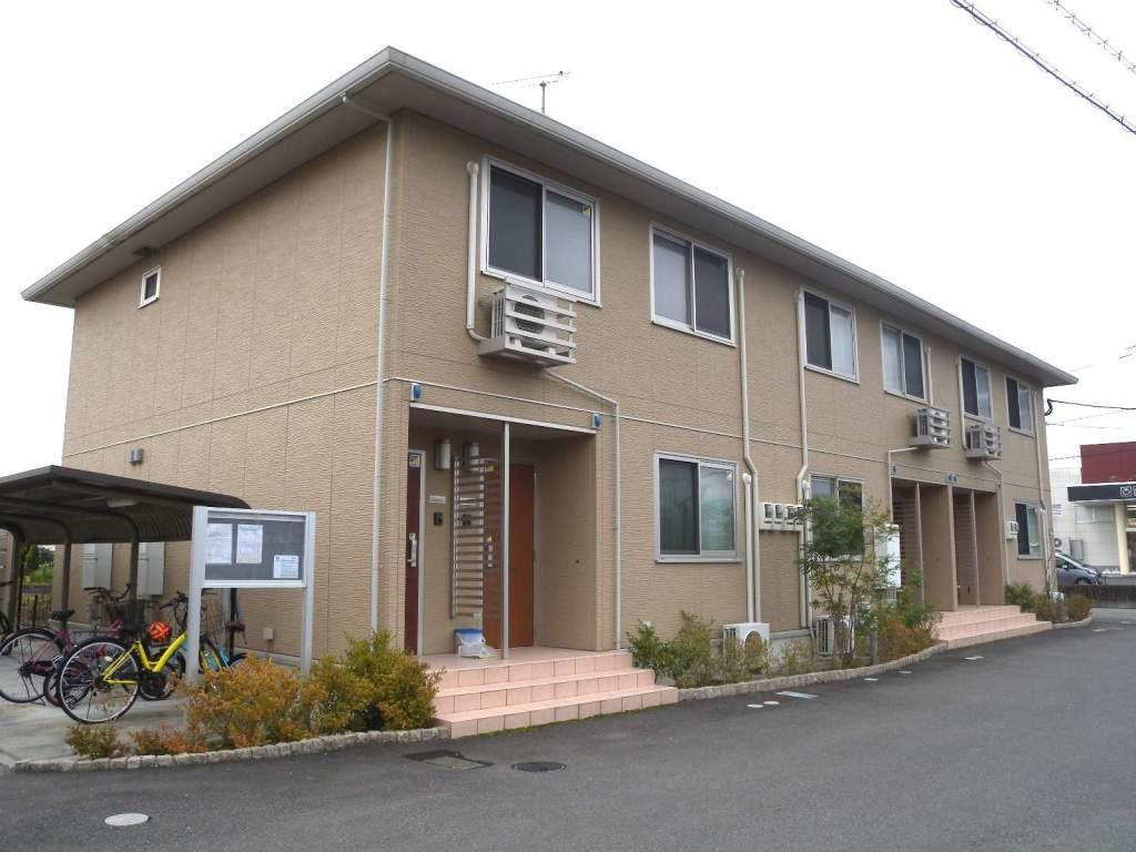 佐賀県佐賀市の築4年 2階建の賃貸アパート