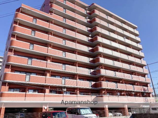 佐賀県佐賀市、伊賀屋駅徒歩110分の築20年 10階建の賃貸マンション