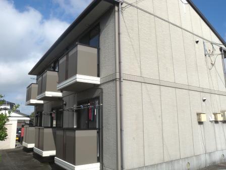 佐賀県佐賀市、鍋島駅徒歩1分の築17年 2階建の賃貸アパート