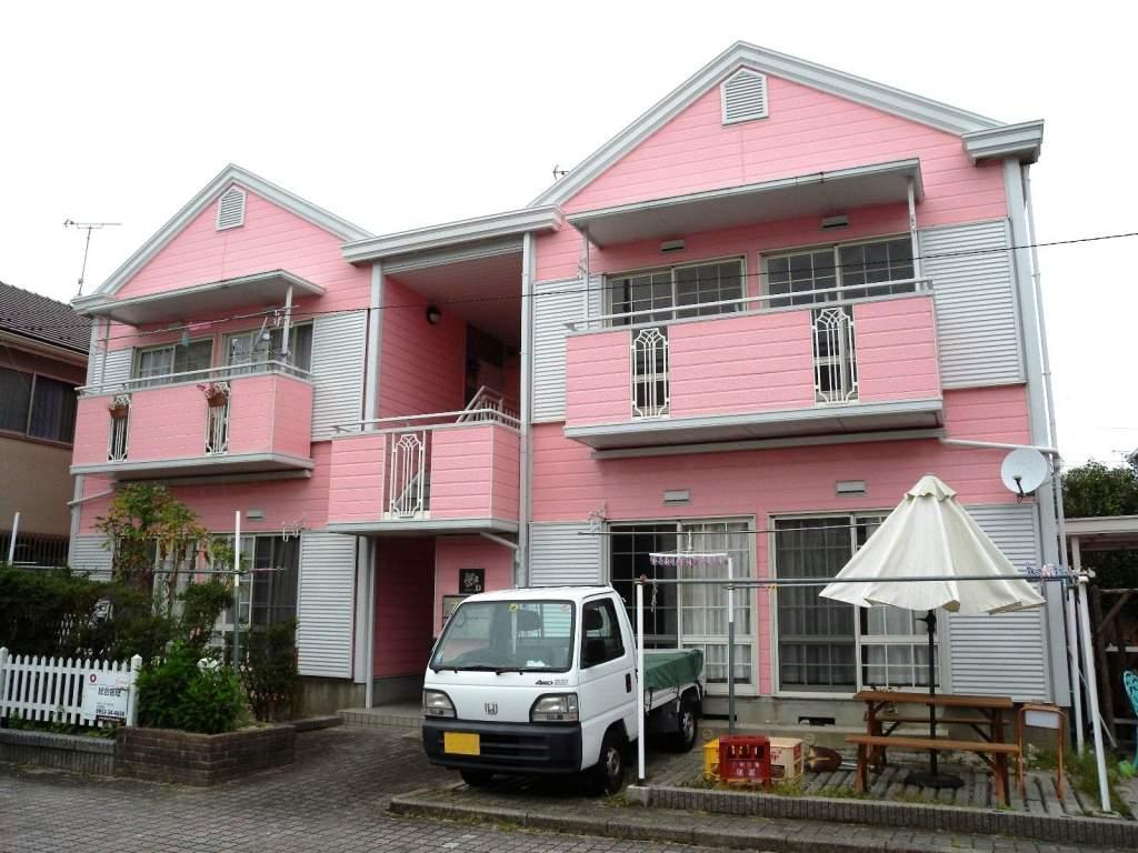 佐賀県佐賀市、鍋島駅徒歩32分の築26年 2階建の賃貸アパート