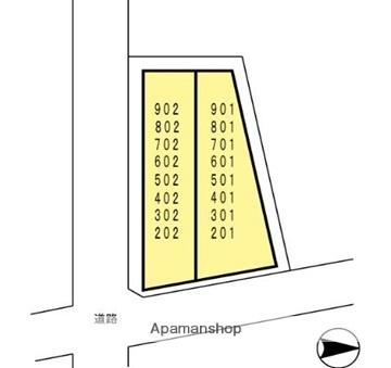 TEKビル桜町電停前[1R/33.7m2]の配置図
