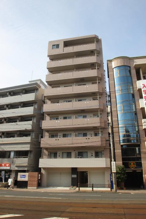 長崎県長崎市、長崎大学前駅徒歩1分の築2年 9階建の賃貸マンション