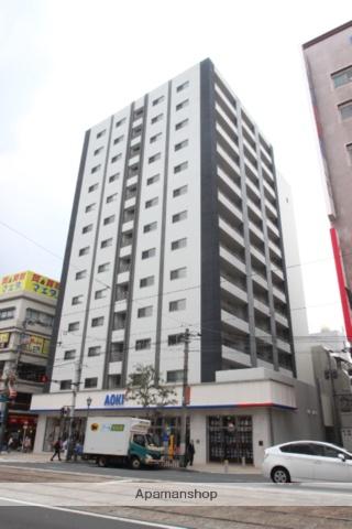 長崎県長崎市、築町駅徒歩3分の築1年 13階建の賃貸マンション