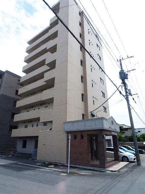 長崎県諫早市、諫早駅徒歩10分の築10年 9階建の賃貸マンション