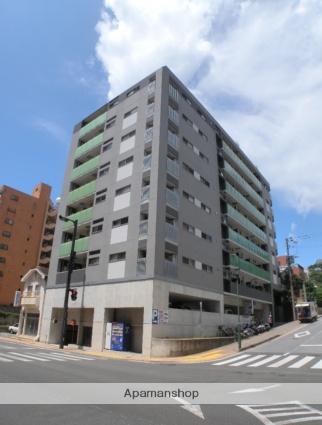 長崎県長崎市、長崎駅徒歩15分の築8年 9階建の賃貸マンション