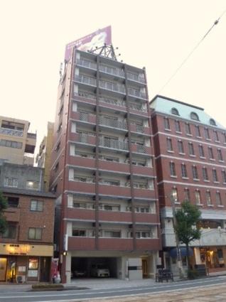 長崎県長崎市、長崎駅徒歩13分の築7年 10階建の賃貸マンション