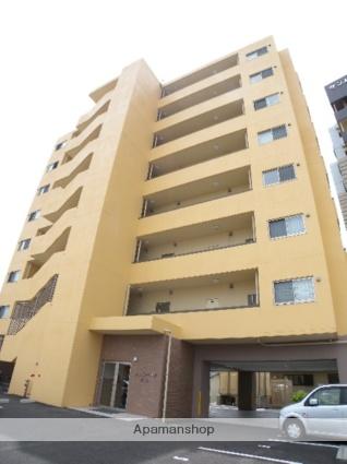 長崎県諫早市、幸駅徒歩2分の築3年 8階建の賃貸マンション