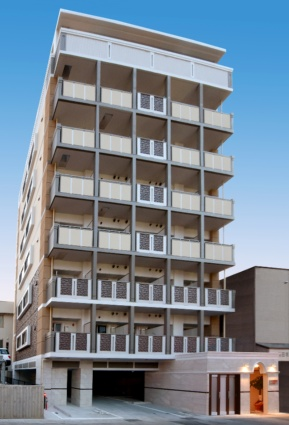長崎県長崎市、浦上駅徒歩4分の新築 8階建の賃貸マンション