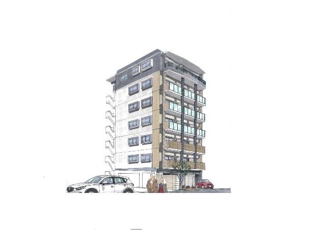長崎県長崎市、松山町駅徒歩6分の新築 7階建の賃貸マンション