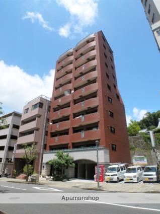 長崎県長崎市、思案橋駅徒歩4分の築10年 11階建の賃貸マンション