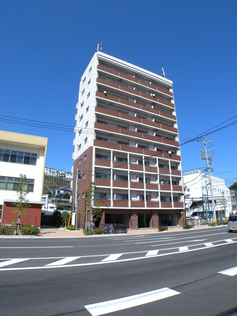 長崎県長崎市、道ノ尾駅徒歩9分の築14年 10階建の賃貸マンション
