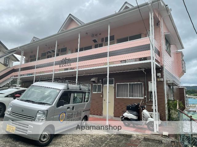 長崎県佐世保市、左石駅徒歩17分の築29年 2階建の賃貸アパート
