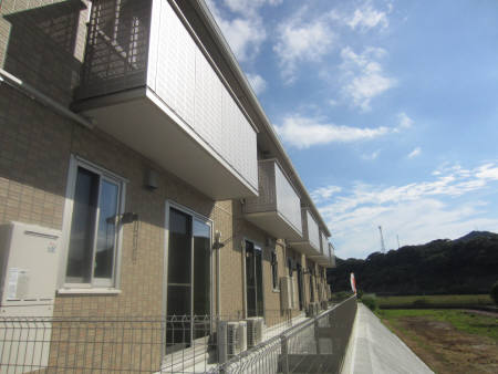長崎県佐世保市、早岐駅徒歩13分の築4年 2階建の賃貸アパート