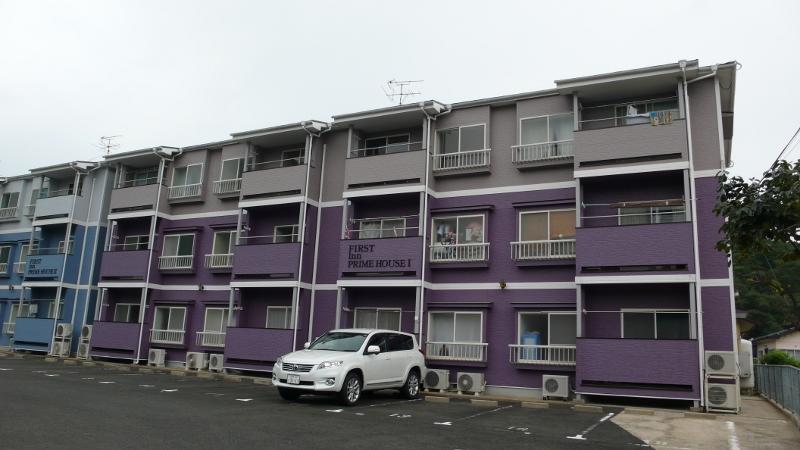 長崎県佐世保市、大塔駅バス16分尼潟下車後徒歩5分の築19年 3階建の賃貸アパート