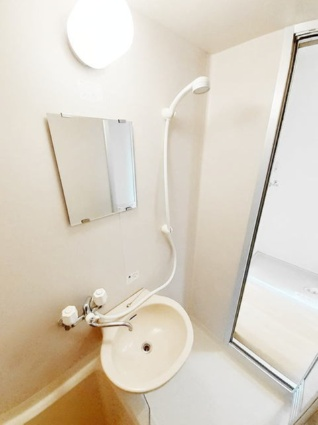 サウスコーポⅤ[1K/23.43m2]の洗面所