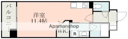 (仮称)大江1丁目マンション[1R/30.6m2]の間取図