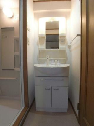メゾンソレイユ[1DK/36m2]の洗面所