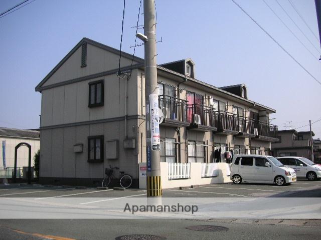 熊本県熊本市南区の築25年 2階建の賃貸アパート