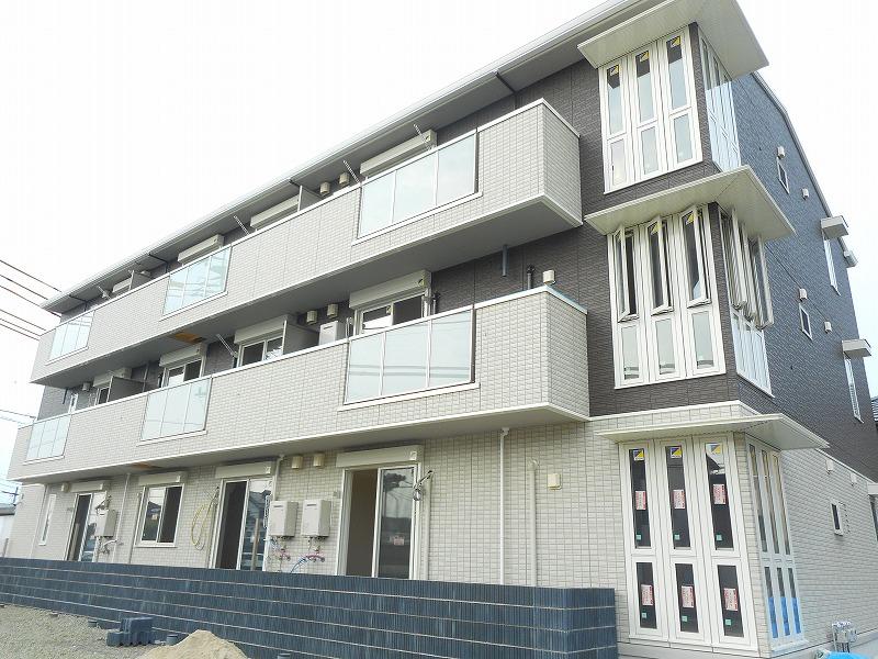熊本県上益城郡嘉島町の新築 3階建の賃貸アパート