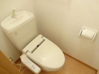 グリーンハイツIKEDA・C[2LDK/50.27m2]のトイレ