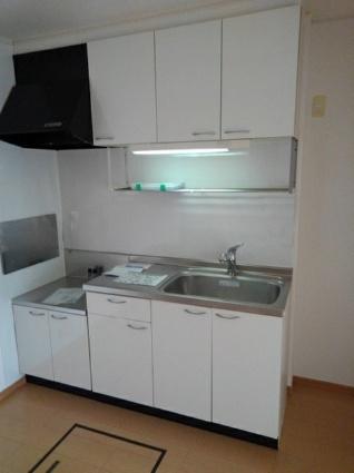 クォーク18A[2DK/44.15m2]のキッチン