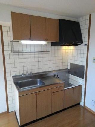 エステート永浦1[2DK/46.13m2]のキッチン
