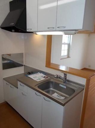 パインヒルズA[1K/32.9m2]のキッチン