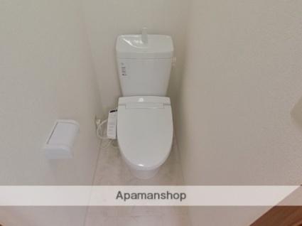 ハイツ黒髪[1K/21m2]のトイレ