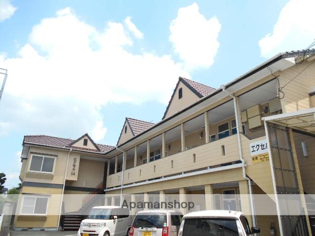 熊本県合志市の築28年 2階建の賃貸アパート