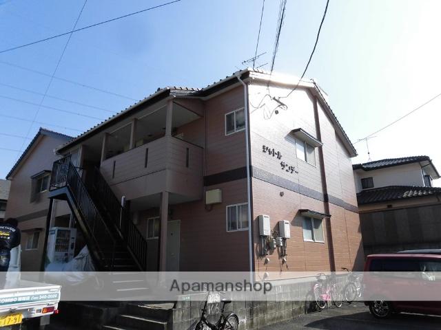 熊本県菊池郡菊陽町、光の森駅徒歩17分の築26年 2階建の賃貸アパート
