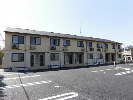 熊本県上益城郡御船町の築1年 2階建の賃貸アパート