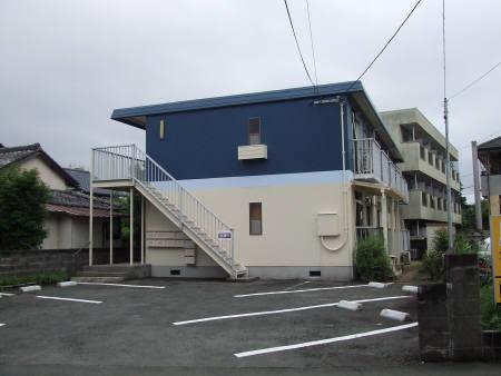 熊本県熊本市中央区、新水前寺駅徒歩19分の築30年 2階建の賃貸アパート
