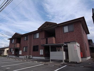 熊本県熊本市東区の築13年 2階建の賃貸アパート