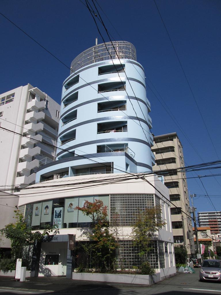 熊本県熊本市中央区、水前寺駅徒歩4分の築30年 8階建の賃貸マンション