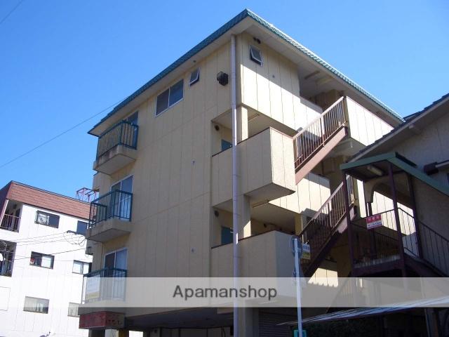 熊本県熊本市中央区、新水前寺駅徒歩16分の築35年 4階建の賃貸アパート