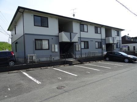 熊本県玉名市の築18年 2階建の賃貸アパート