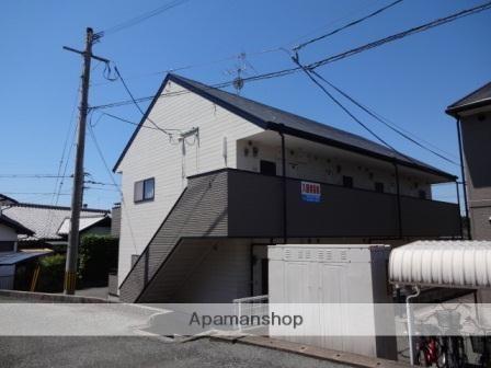 熊本県玉名市の築17年 2階建の賃貸アパート