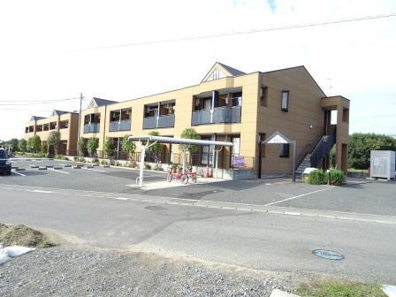 熊本県玉名市の築7年 2階建の賃貸アパート