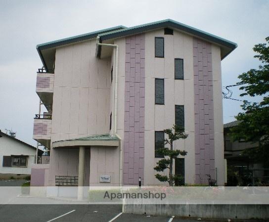 熊本県玉名市の築17年 3階建の賃貸アパート