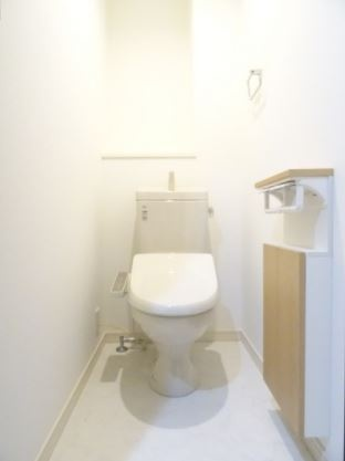 熊本県熊本市中央区新町4丁目[1LDK/40.12m2]のトイレ